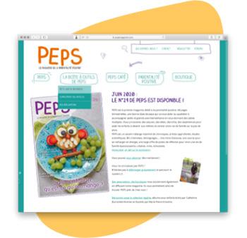 PEPS est le premier magazine dédié à la parentalité positive